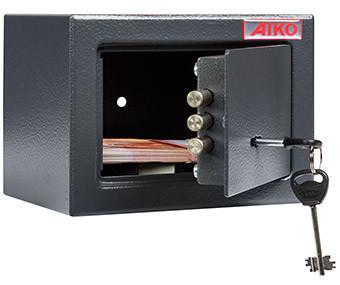 Офисный и мебельный сейф AIKO T-140 KL (140х195х140)