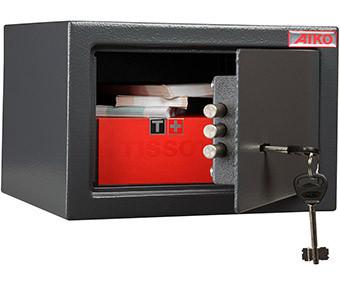 Офисный и мебельный сейф AIKO T-170 KL (170х260х230)