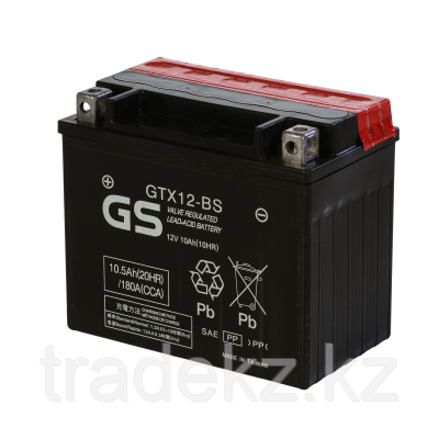 Аккумулятор GS Yuasa GTX12-BS, фото 2