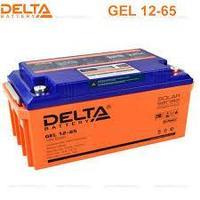 Аккумуляторная батарея Delta GEL 12-65, фото 1