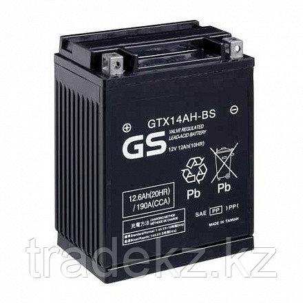 Аккумулятор GS Yuasa GTX14AH-BS