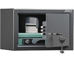 Офисный и мебельный сейф AIKO T-200 KL (200х310х200)