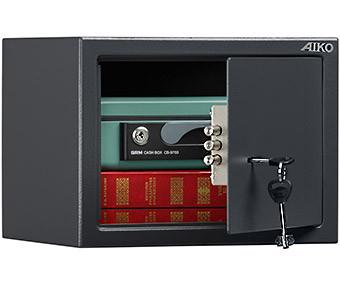 Офисный и мебельный сейф AIKO T-230 KL (230х310х250)