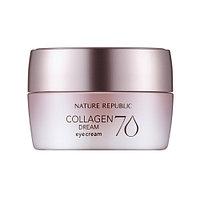 "Nature Republic  Collagen Dream 70 Eye Cream -Крем для глаз""Коллагеновая мечта 70""(25мл)"