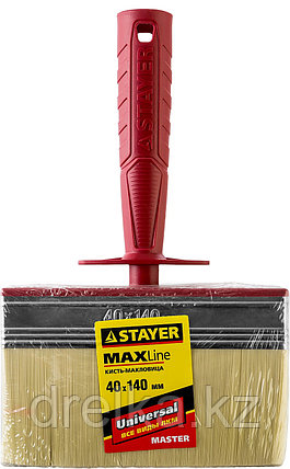 "Макловица STAYER ""MASTER"" UNIVERSAL, светлая щетина, пластмассовый корпус, 4х14см, фото 2"