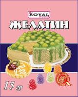 Желатин пищевой 15 гр, дойпак, Royal Food