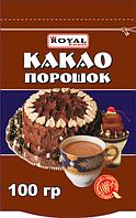 Какао порошок 100 гр, дойпак, Royal Food