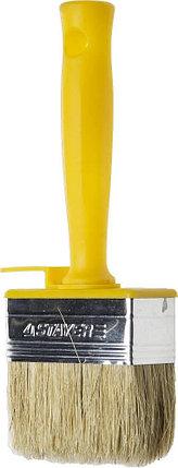 "Макловица STAYER ""PROFESSIONAL"" UNIVERSAL, натуральная светлая щетина, пластмассовый корпус, 30х100мм, фото 2"