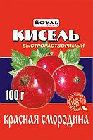Кисель б/р 100 гр, Красная смородина, Royal Food