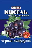 Кисель б/р 100 гр, Черная смородина, Royal Food