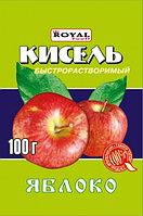 Кисель б/р 100 гр, Яблоко, Royal Food