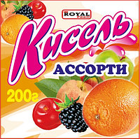 Кисель 200 гр, Ассорти, Royal Food