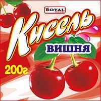 Кисель 200 гр, Вишня, Royal Food