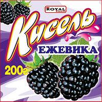 Кисель 200 гр, Ежевика, Royal Food