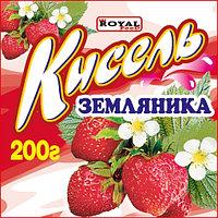 Кисель 200 гр, Земляника, Royal Food