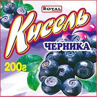 Кисель 200 гр, Черника, Royal Food