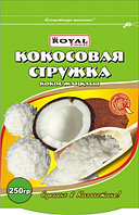 Кокосовая стружка 250 гр, дойпак, Royal Food