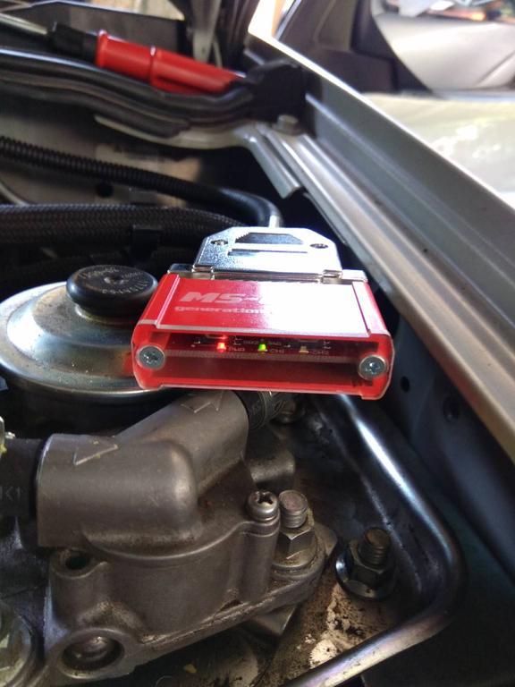 Установлен чип тюнинг BOX для автомобиля Mitsubishi Sport 3