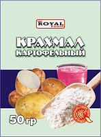 Крахмал картофельный 50 гр, Royal Food