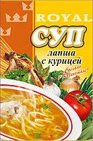 """Суп """"Лапша с курицей"""" 65 гр, Royal Food"""