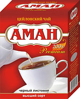 "Чай ""Аман"" цейлонский листовой 170 гр, Royal Food"