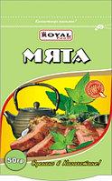 Мята зелень сушеная 50 гр, дойпак, Royal Food
