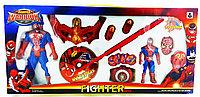 Spider Man Fighter Warrior 1034B Человек Паук Игровой набор