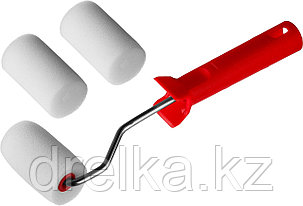 """Валик """"ПОРОЛОН"""" в наборе: 3 шубки + ручка, 65 мм, d=40 мм, MIRAX, фото 2"""