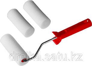 """Валик """"ПОРОЛОН"""" в наборе: 3 шубки + ручка, 100 мм, d=40 мм, MIRAX, фото 2"""