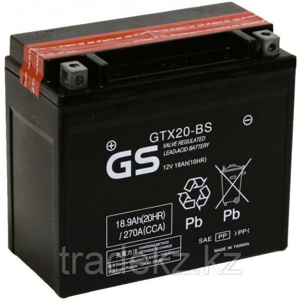 Аккумулятор GS Yuasa GTX20-BS