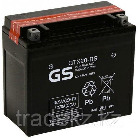Аккумулятор GS Yuasa GTX20-BS, фото 2