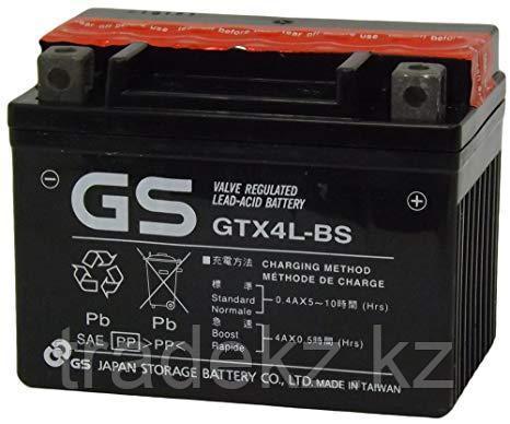 Аккумулятор GS Yuasa GTX4L-BS, фото 2