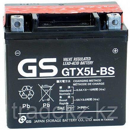 Аккумулятор GS Yuasa GTX5L-BS, фото 2