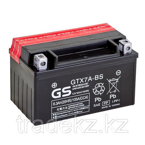 Аккумулятор GS Yuasa GTX7A-BS, фото 2