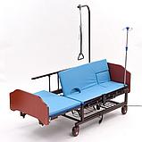 МЕТ REVEL NEW (BLY-1) Кровать медицинская функциональная электрическая с USB разъемом, фото 2