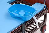 МЕТ REVEL NEW (BLY-1) Кровать медицинская функциональная электрическая с USB разъемом, фото 9