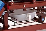 МЕТ REMEKS Медицинская кровать для ухода за лежачими больными с переворотом, туалетом и матрасом, фото 6