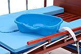 МЕТ REMEKS Медицинская кровать для ухода за лежачими больными с переворотом, туалетом и матрасом, фото 9