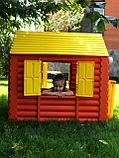 Детский игровой Домик Palplay - Лесной Светлячок  со светом и музыкой (коричневый, желтый) , фото 3