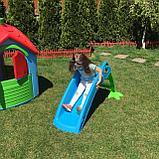 Детская горка Marian Plast  Пеликан (желтый, красный, синий) 135x41x56 , фото 2