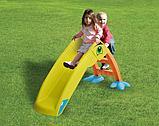 Детская горка Marian Plast  Пеликан (желтый, красный, синий) 135x41x56 , фото 3