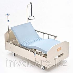 MET ARCTIC Кровать функциональная медицинская с низким ЛДСП-основанием цвета Выбеленный дуб