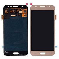 Дисплей Samsung Galaxy J5 Duos SM-J500H, с сенсором, цвет золотой, качество OLED