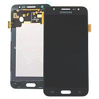 Дисплей Samsung Galaxy J5 Duos SM-J500H, с сенсором, цвет черный, качество OLED