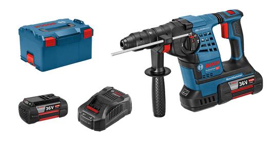 Аккумуляторный перфоратор Bosch GBH 36 V-LI Plus Professional (2 акк 4.0 Ач) в L-Boxx 0 611 906 002