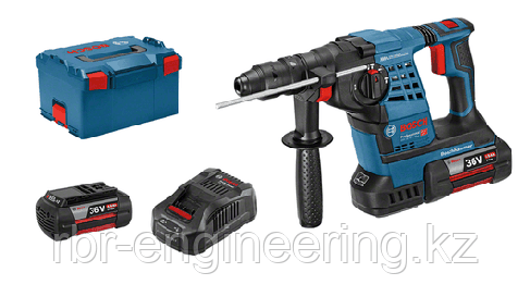 Аккумуляторный перфоратор Bosch GBH 36 V-LI Plus Professional (2 акк 4.0 Ач) в L-Boxx 0 611 906 002, фото 2