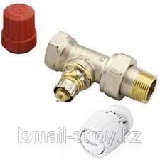 Комплект терморегулятора для двухтрубной системы отопления, состоящий из клапана RTR-N и термостата RTR7090