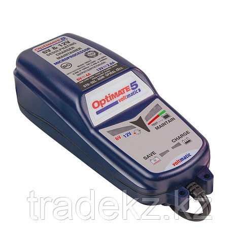 Зарядное устройство TM222 OptiMate 5 Voltmatic (1x2,8A, 12V; 4A, 6V), фото 2