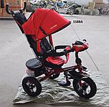 """Детский трехколесный велосипед с поворотным сиденьем """"Voyage"""" А5588, фото 8"""