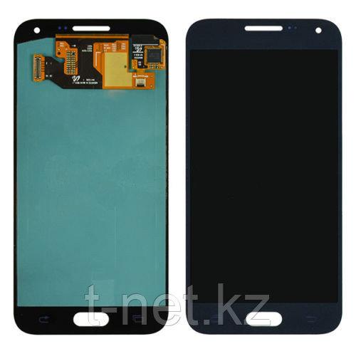 Дисплей Samsung Galaxy E5 Duos SM-E500F, с сенсором, цвет черный